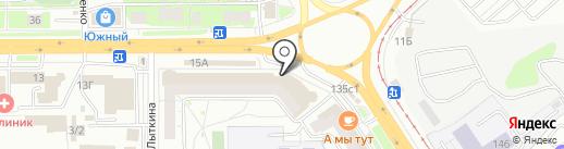 Полиграфия на карте Томска