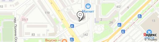 Tomsknasutki.ru на карте Томска