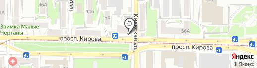 Подушки всем на карте Томска