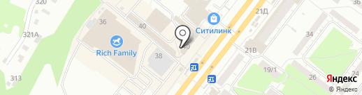 Центр авторазбора и продажи автозапчастей на карте Томска