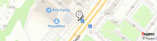 Сервисный центр на карте Томска