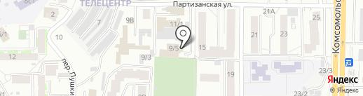 АвтоЗона на карте Томска