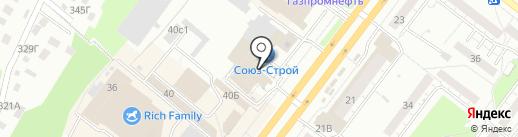 Аасана на карте Томска