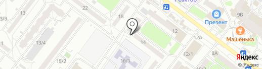 София на карте Томска