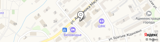 АЭЛИТА на карте Белокурихи
