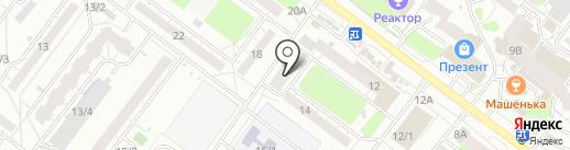 Катрин на карте Томска