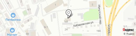 Вебасто на карте Томска