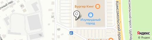 Аскона на карте Томска