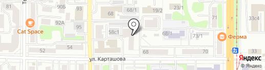 СибБухЭксперт на карте Томска
