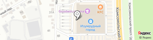 VAN CLIFF на карте Томска