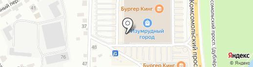 Cropp на карте Томска
