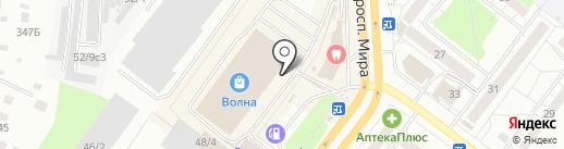 Флоренция на карте Томска