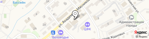 Орион на карте Белокурихи