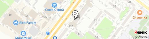 Ярче! на карте Томска