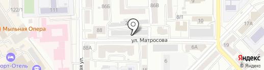 Томь на карте Томска