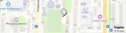Манометр на карте Томска