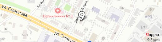 Милка на карте Томска