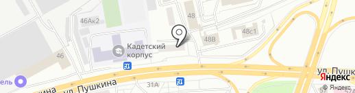 ГРАВЁР на карте Томска
