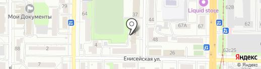 Асгард на карте Томска