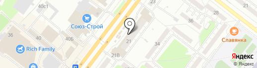 Золушка на карте Томска