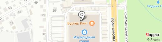 Colin`s на карте Томска