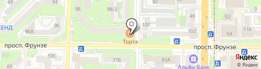 Helix на карте Томска