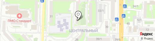 Малина на карте Томска