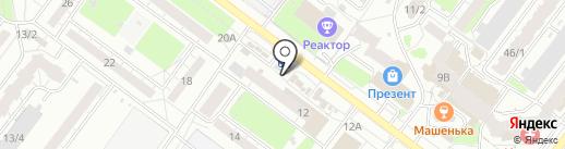Деревенские продукты на карте Томска