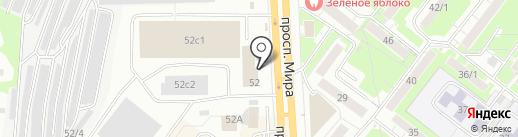 Центр организации и контроля пассажироперевозок, МБУ на карте Томска