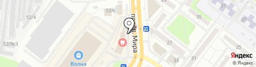Территория жизни на карте Томска