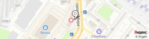 ВЗГЛЯД на карте Томска