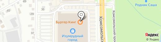 Вафельница на карте Томска