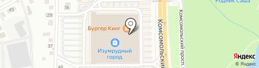 New balance на карте Томска