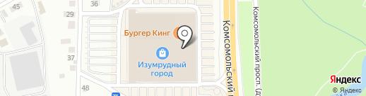 Дом быта на карте Томска