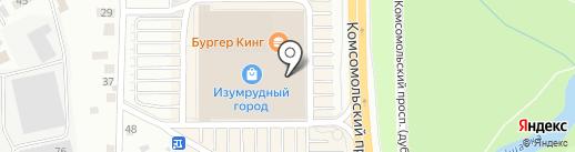 Линии Любви на карте Томска