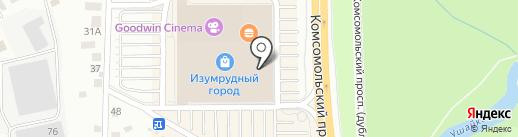 Gulliver на карте Томска