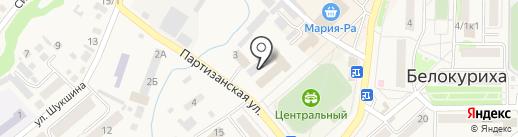Ростелеком на карте Белокурихи