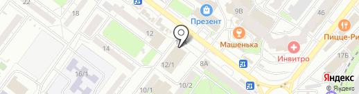 Банкомат, Почта Банк, ПАО на карте Томска