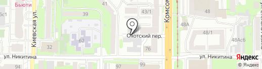 Утилизация-Томск на карте Томска