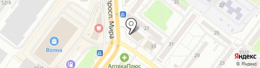 Грандприкс на карте Томска