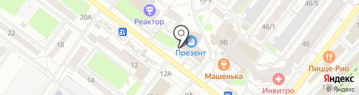 ULTRA ПОДАРКИ на карте Томска