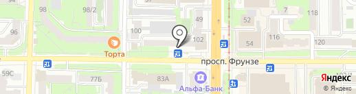 ДОМа на карте Томска