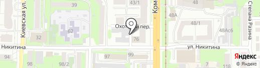 Мототека.рф на карте Томска