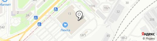 МТС на карте Томска