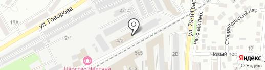 ADM70 на карте Томска