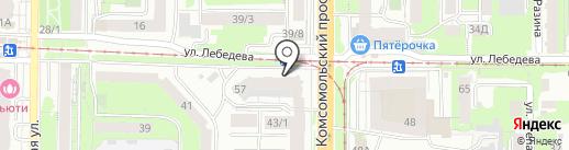 Наши соседи на карте Томска