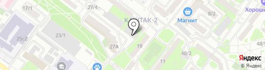 Авто отогрев Томск на карте Томска