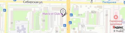 7 одёжек на карте Томска