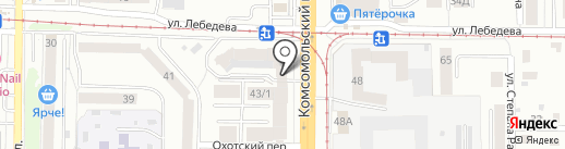 Груз-Альянс на карте Томска
