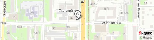 Аква Престиж на карте Томска